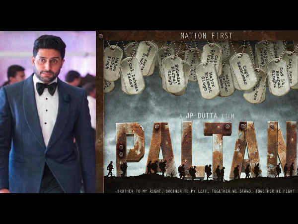 SHOCKING! Abhishek Bachchan Walks Out Of Paltan At The Last Minute, Which Actor Will Replace Him?