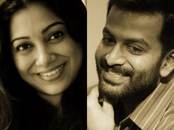 Prithviraj-Anjali Menon Movie: Here Is An Update