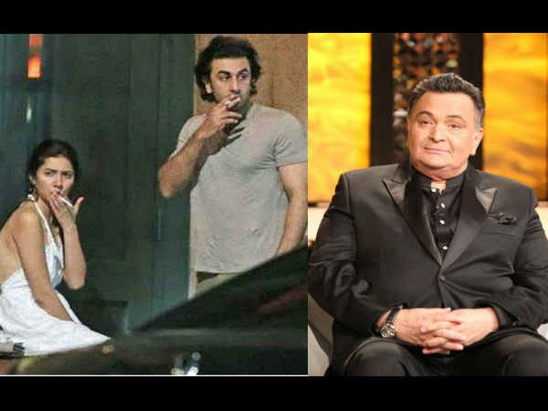 HOT NOW! Papa Rishi Kapoor Reacts To Ranbir Kapoor- Mahira Khan's Viral Pictures