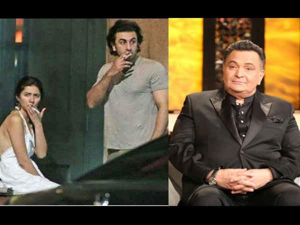 HOT NOW! Papa Rishi Kapoor Reacts To Ranbir Kapoor- Mahira Khan's Viral Pictures