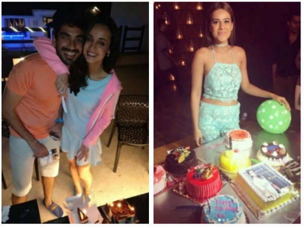 Sanaya Irani & Nia Sharma Have A Blast On Their Birthdays (PICS)