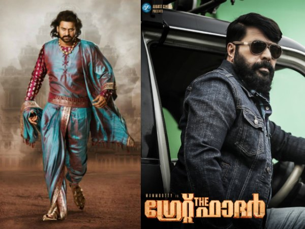 WOW! Mammootty's The Great Father Is Next Only To Baahubali 2!