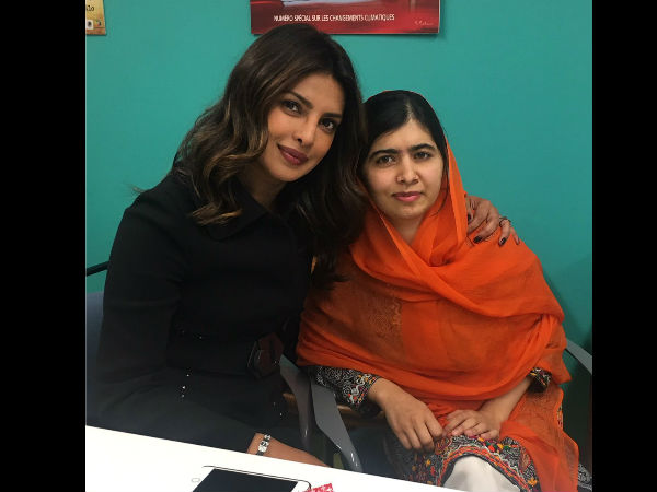 Picture Talk: Priyanka Chopra & Malala Yousufzai Are In Awe Of Each Other