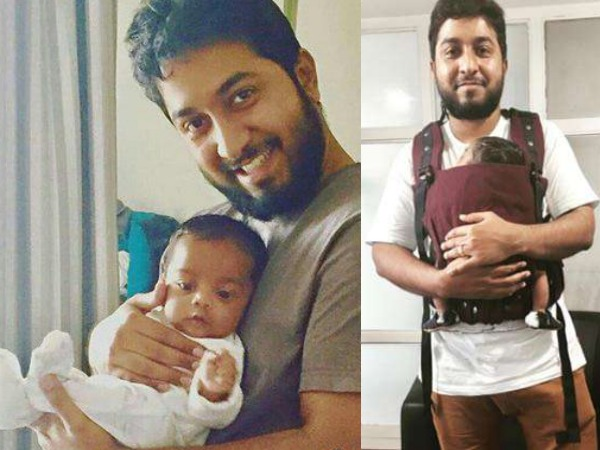 Meet Vineeth Sreenivasan & Divya's Little Munchkin Vihaan!