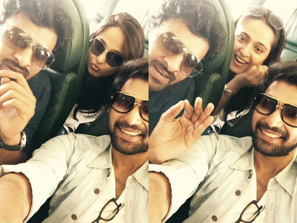 One Of The Most Loved Selfie Of Prabhas-Rana-Anushka
