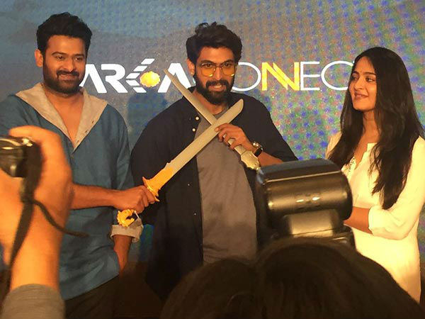 Anushka Is Rana's 'Bro'