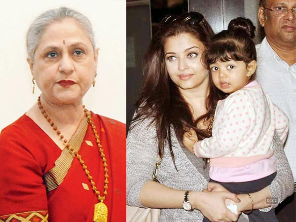 Aaradhya Is Never Clicked With Jaya Bachchan