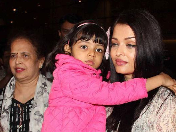 We See Aaradhya Only With Her Nani