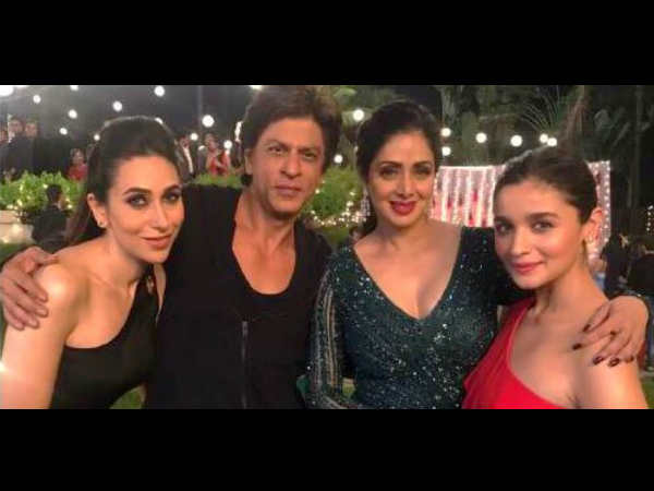 The Lovely Ladies Came Together For Shahrukh Khan