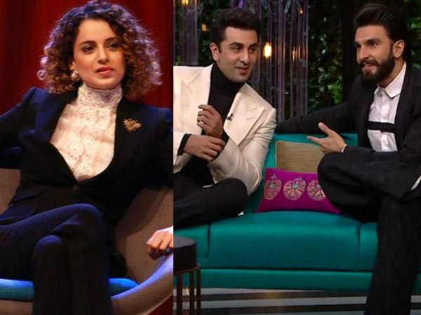 Why Ranveer Took Kangana's Name?