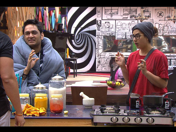 Shilpa & Vikas' Fight Continues