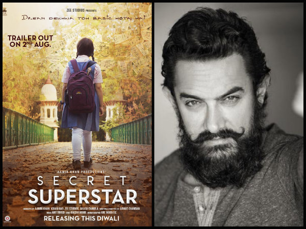 Aamir Also Talked About His Next Film 'Secret Supertar'