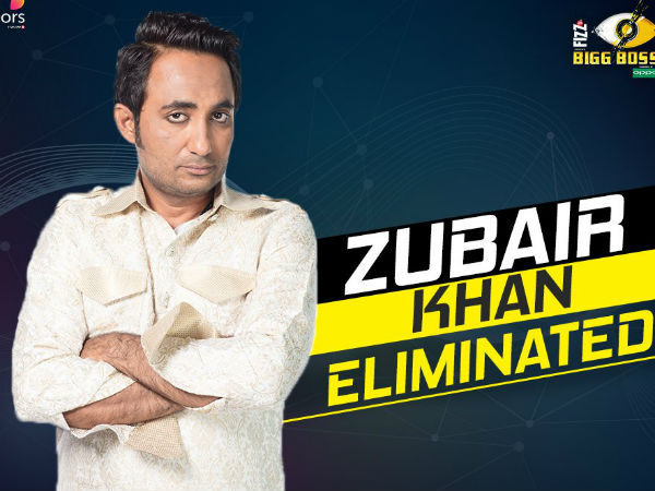 Zubair Gets Evicted
