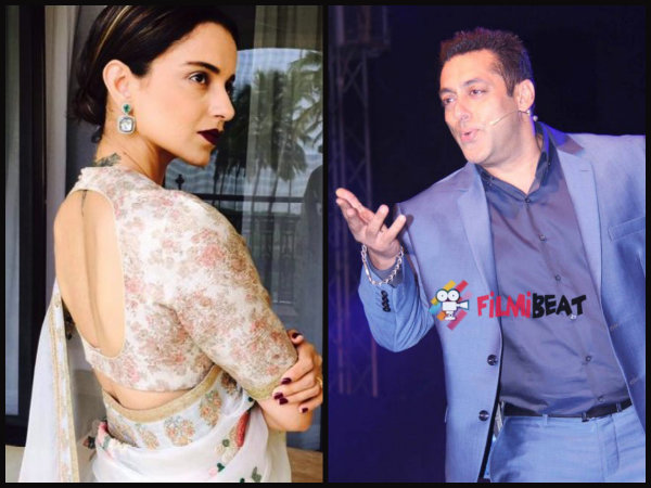 Salman Is Weird: Kangana