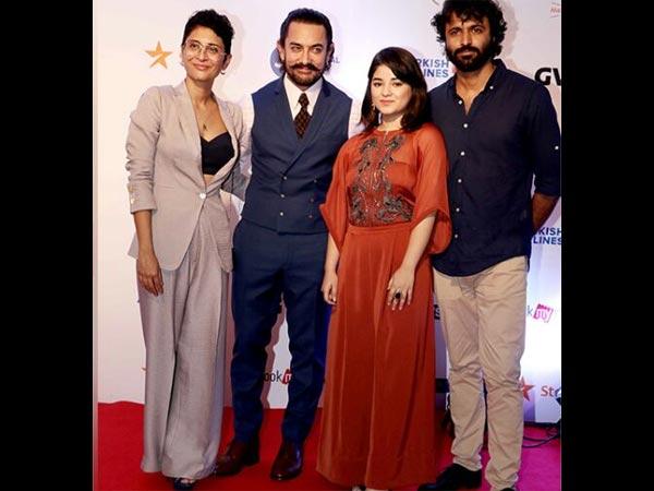 Aamir Khan Attends A Film Festival With His Secret Superstar Team!