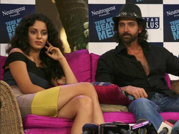 Hrithik Had A Strictly Professional Relationship With Kangana