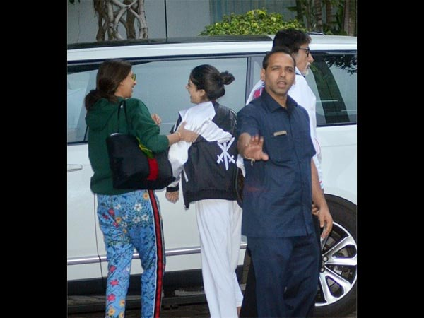 The Bachchans Were Spotted Joking At The Airport
