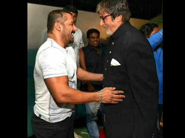 Big B Keeps Meeting Salman