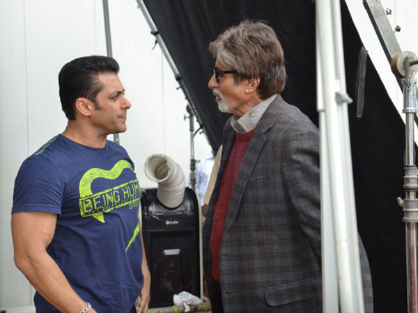 When Big B Shared A Pic With Salman