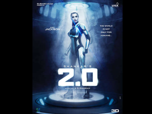 Amy Jackson Wraps Rajinikanth-Akshay Kumar Starrer '2.0', Arrives In Canada To Shoot 'Supergirl'