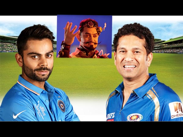 Sachin Tendulkar Virat Kohli Aamir Khan Secret Superstar