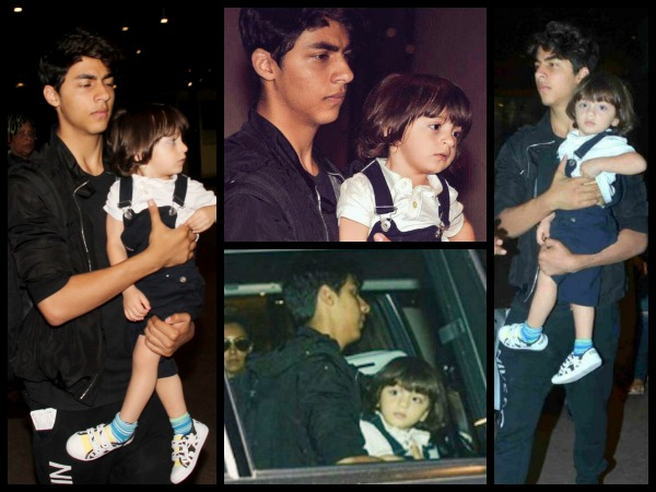 Aryan-AbRam's Cute Conversation Over SRK