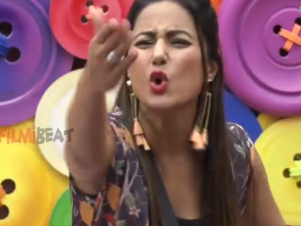 Hina Khan Misunderstands Bigg Boss' Direction