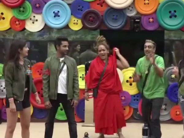 Shivani Durga Dances With Housemates