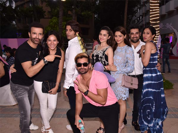 TV Celebs At Bella and Vienna's Birthday Party