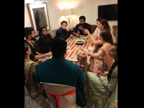 Mohit & Mouni Celebrate Diwali With Friends