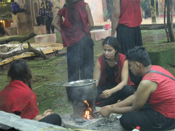 Contestants Have To Cook In The Garden Area