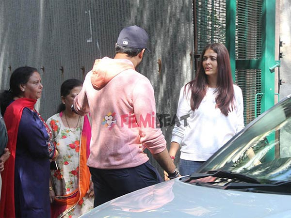 Aish & Abhi Rushed There