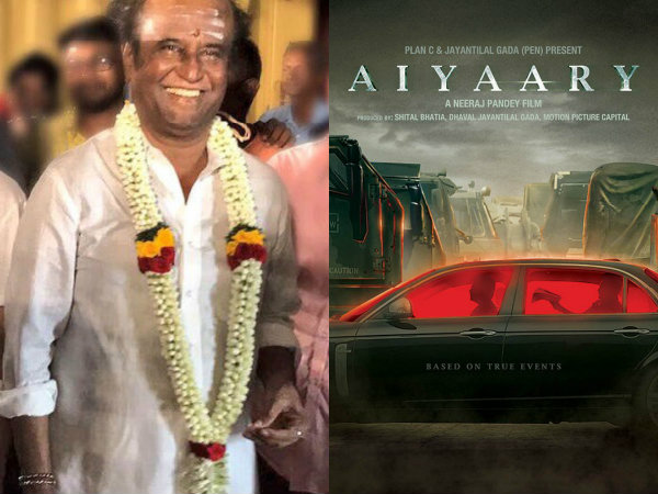 Superstar Rajinikanth's Robo 2.0 To Clash With Sidharth Malhotra's Aiyaary?