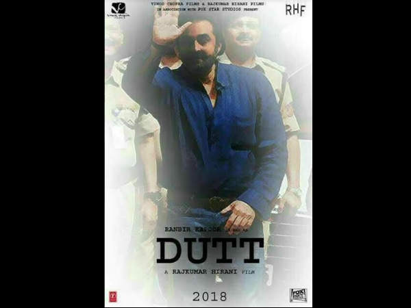 WAIT, WHAT! Is This A Leaked Poster Of Ranbir Kapoor Starrer Sanjay Dutt Biopic?