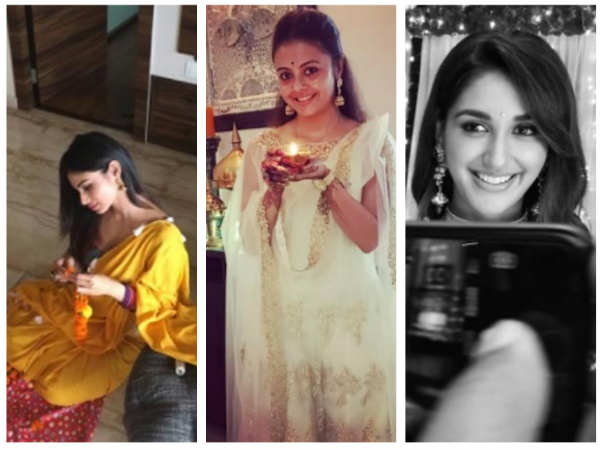 Sriti Jha, Vivek Dahiya, Nikita Dutta, Mouni Roy & Others TV Actors Wish Their Fans For Diwali