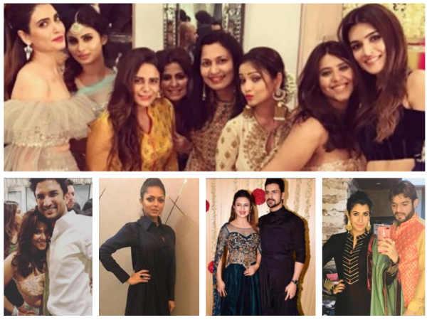 Ekta Kapoor's Diwali Bash: Drashti Dhami, Divyanka Tripathi, Karan Patel & Other TV Celebs Attend