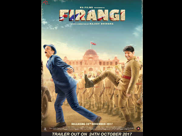 Firangi Poster: Kapil Sharma Gears Up To Kick Angrezi Butt In This First Look Poster