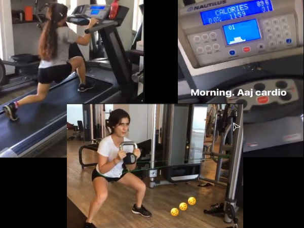 ALL HARD WORK! Fatima Sana Shaikh Is Sweating It Out For Thugs Of Hindostan