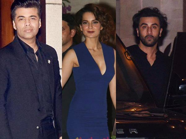 Angry With Leaked Mails? Ranbir Kapoor Upset With Kangana Ranaut; Ignores Her At A Party