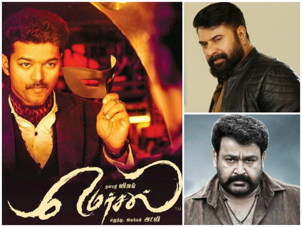 Mersal Storm: Vijay Overtakes Mammootty & Mohanlal At The Kerala Box Office!