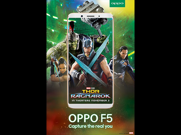 Marvels fans across the world are excited about the much anticipated release of Thor Ragnarok; and OPPO has decided to take the excitement to the next level by collaborating their new variant launch along with the movie's release.