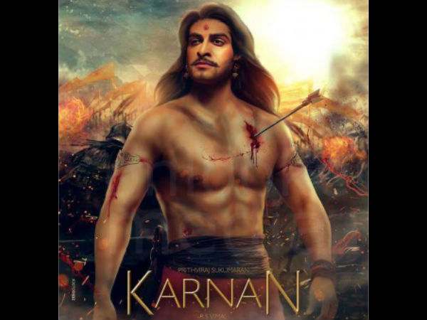 RUMOUR HAS IT! Prithviraj's Karnan Is Shelved?