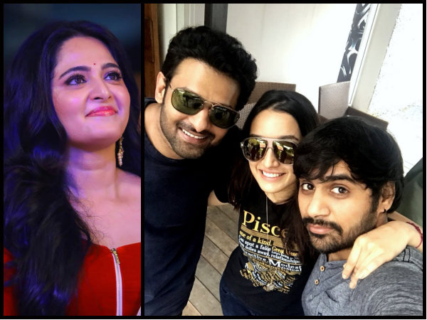 PICTURE OF B'DAY BOY! Shraddha Kapoor Meets Prabhas; Anushka Shetty Sends An EXPENSIVE Gift For Him!