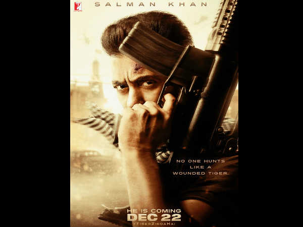 DIWALI DHAMAKA! Salman Khan Is Back As A Wounded Tiger In The First Teaser Poster Of Tiger Zinda Hai