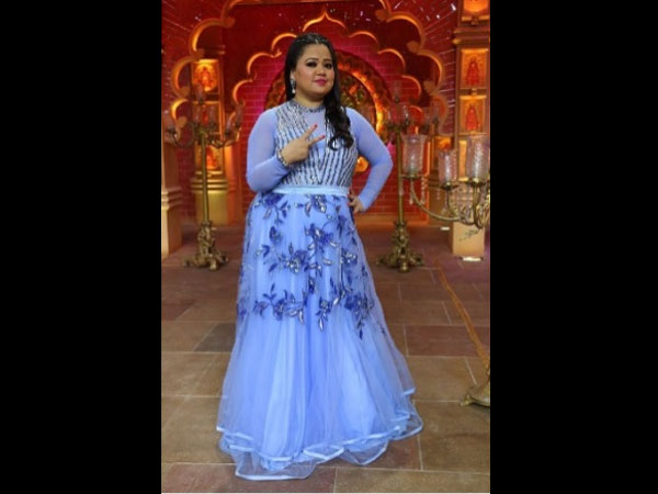 Bharti Singh's Wedding Dress
