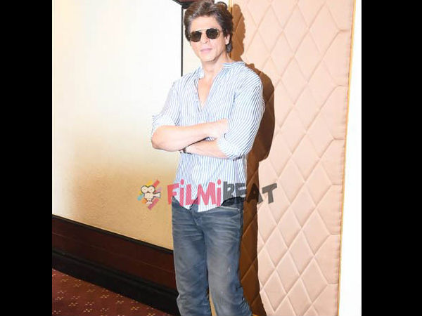 Not Thinking About Any Film Till December: SRK