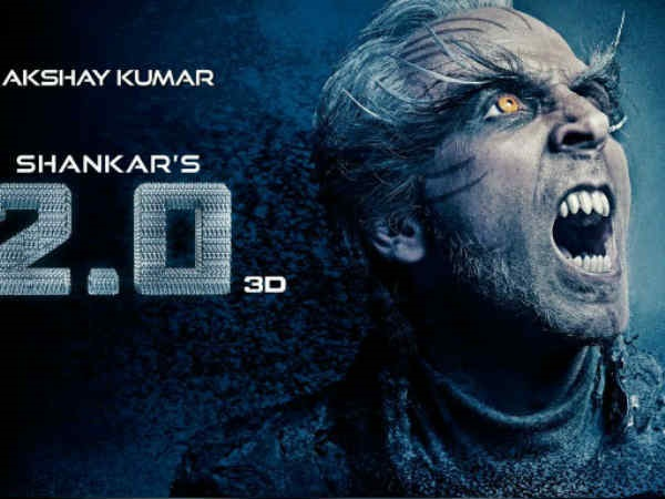 Akshay Kumar's 2.0 Poster Is Not For The Faint-Hearted
