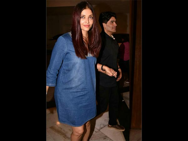 Aishwarya, On The Work Front