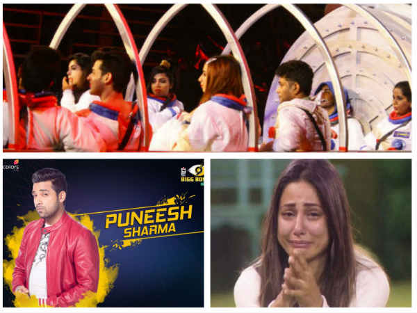 Puneesh Slammed For Being Careless; Hina Khan Breaks Down!