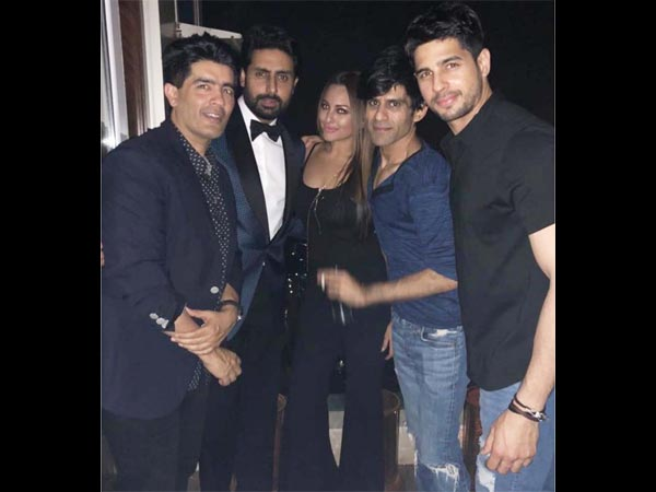 Abhishek Attended The Party As Well